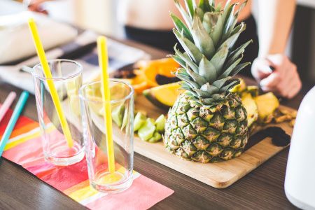aloe vera cocktail zubereiten