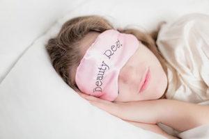 zum entschlacken viel schlafen