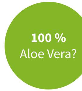 100 prozent aloe vera